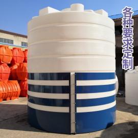 �A社 25T塑料��罐抗紫外�易清洗水箱�}酸��罐耐酸�A�L塑工� 25000L