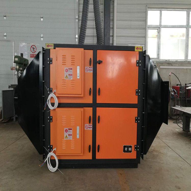 众鑫兴业 废气吸附装置油雾净化器热处理淬火油烟净化器废气治理设备 ZX-FQ