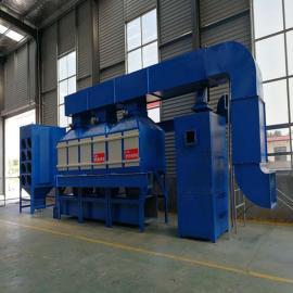 众鑫兴业 环保废气净化 漆雾净化器RCO催化燃烧装置 VOC废气治理设备 ZX-FQ