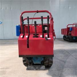 圣时 履带系列多功能运输车 液压控制翻斗车 SS-1.2