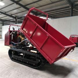 圣时 山地轻型履带运输车 农业运输履带翻斗 SS-1.2