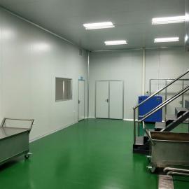 俊恒灌装间净化工程净化板装修施工