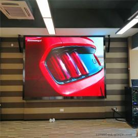 宴会厅背景墙4米观看距离用P3全彩led显示屏效果