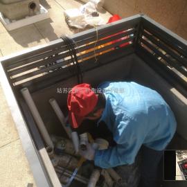 法��原�b�M口 全能1 �e墅地下室��切割提升�b置 污水提升器SANICUBIC1 WPSFA