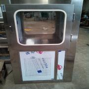 净化车间无尘室201不锈钢机械锁传递窗304电子互锁传递箱 HR-CDC 红日