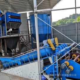 洗砂回收一�w�C・隆中重工�水型洗砂回收一�w�C�_��泥沙分�x�O�湫鲁绷�