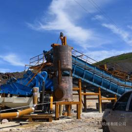 移动洗砂机 隆中重工 大型山砂洗砂机 移动环保型洗沙回收一体机闪耀市场