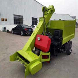 圣时动力强劲牛粪清理车 车厢自卸粪便清粪车SQF-3