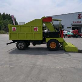 圣时 牛场大型柴油清粪车 养殖场粪便清理机 SQF-4