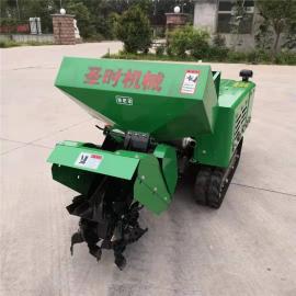 圣时开沟机农用机械 履带式旋耕机SSK-35
