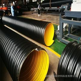 合纵 dn900钢带聚乙烯波纹管pe螺旋波纹钢带管 各种型号