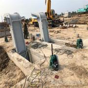 创禹水工 回转格栅式清污机制造直供 回旋式除污机 减轻负荷 HGS