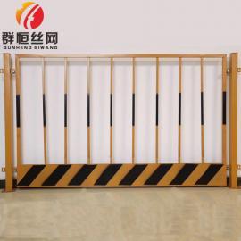 基坑护栏可定做定制 工地基坑临时防护栏 喷塑防护围栏网 1.2m*2.0m 群恒