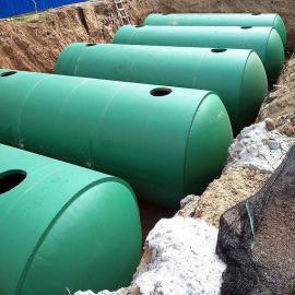 高分子玻璃钢学校化粪池整体式100立方化粪池泽润