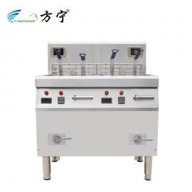 方宁商用电磁炸炉单缸电炸炉电炸锅