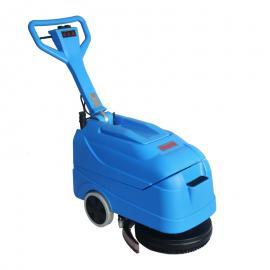 洁乐美小型手推式电线洗地机油污清洗吸干机食堂餐厅拖地机现货YSD-420B