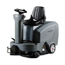 高美 双刷驾驶式扫地机 小区物业道路清扫车电动车间仓库 GM-MINIS