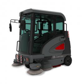 高美 新款全封闭扫地机 驾驶式道路清扫车自卸式垃圾箱送货 S1900ED