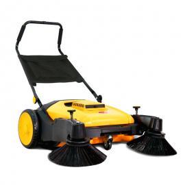 洁乐美 手推式扫地机小型无动力车间道路两侧清扫车家用除尘扫路车 KM98/40