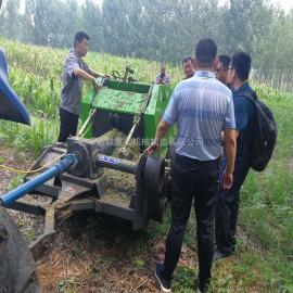 鑫联 玉米秸秆粉碎打捆机匹配拖拉机动力 秸秆打捆机型号 9YQ-1300