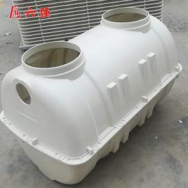 六强模压化粪池玻璃钢生产基地2方