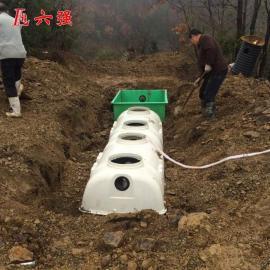 六强玻璃钢模压化粪池旱厕改造用价钱低1方