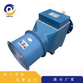 乾源电热 定制生产带风机型电加热器 粮食烘干专用风道加热器 qy