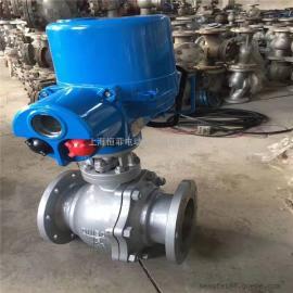 电动不锈钢调节球阀工作原理介绍及技术指导 Q941F-16P-DN15-500