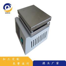 乾源电热 加工非标定制恒温加热板加热台 耐高温不锈钢恒温加热器 qy