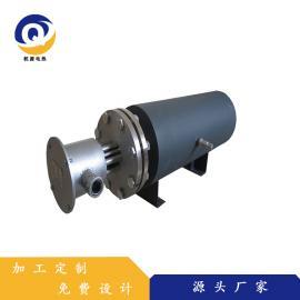乾源电热 循环空气电加热器 非标定制防爆卧式管道加热器 qy