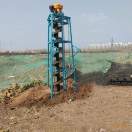 金钻工地四冲程大马力挖坑机 三脚架固定式打眼机三脚架挖坑机