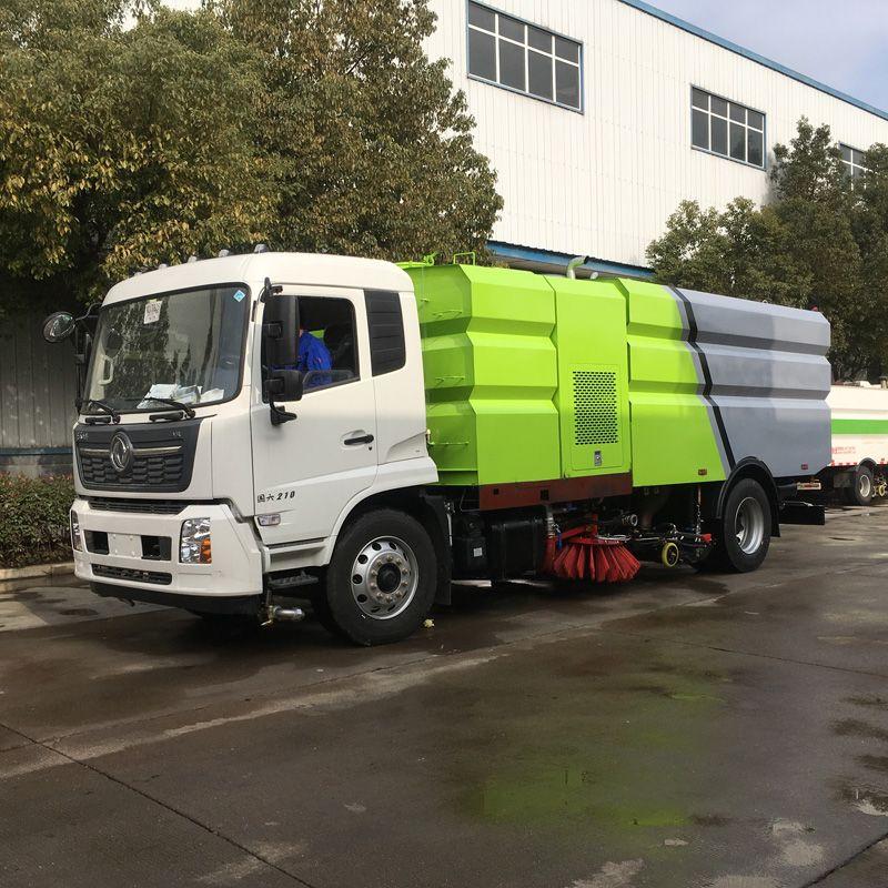 东风 5吨环卫马路洗扫车 道路洒水清扫车