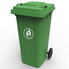 市政保洁分类垃圾桶-全新料加厚挂车桶-景区园林果皮箱企业