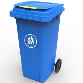 绿华lvhua塑料干湿分类垃圾箱制造工厂 物业小区分类垃圾桶生产定制企业lh-01
