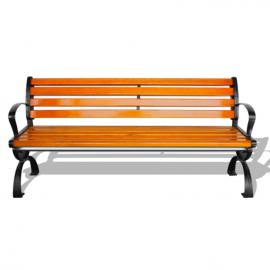 景区休闲椅定制厂商-街道塑木休闲长凳子生产厂商-公园椅货源