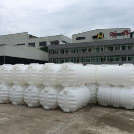 绿明辉 耐腐蚀一体成型1立方三格式化�S池 厂家直销