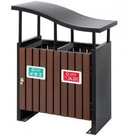 市政环卫垃圾桶货源-景区分类垃圾桶-街道园林金属果皮箱定制厂