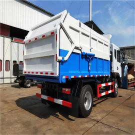 环保标准10吨粪污运输车招标合作 鸡粪运输车 8吨污泥清运车说明