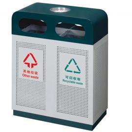 垃圾桶生产家-不锈钢果壳箱-镀锌板垃圾箱