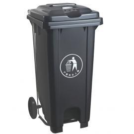 小�^社�^�_踩桶120L升生活塑料垃圾桶