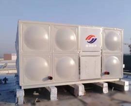 金�� 屋�式箱泵一�w化消防水箱施工方案 18x10x3