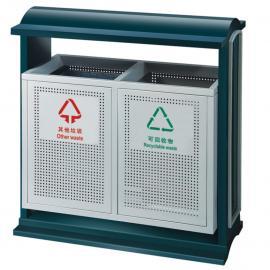 园林绿化果皮箱/景区分类垃圾桶/社区各种材质果壳箱