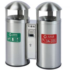 社区街道三分类不锈钢垃圾桶商场广场不锈钢垃圾箱经销商