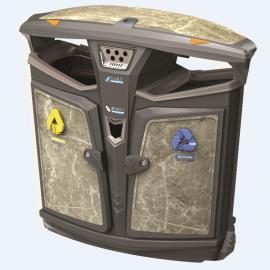 街道路口垃圾桶社区医院二分类果皮箱高档垃圾箱定制加工厂