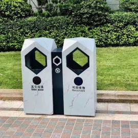户外个性果皮箱-景区街道垃圾桶