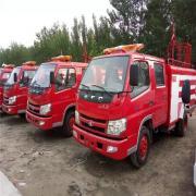 5立方 泡沫 水罐消防车 东风 FQ155