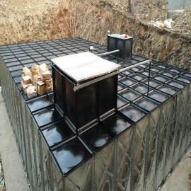 �秃系芈袼�箱 地埋式箱泵一�w化