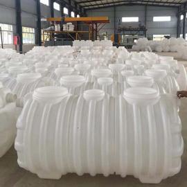 绿明辉 吹塑成型整体密封1.5立方PE化粪池 厂家直销
