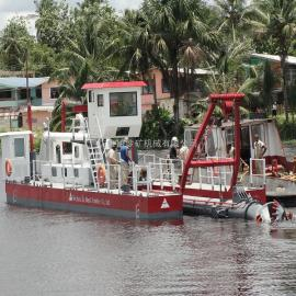 金盟 挖泥船的种类有几种 绞吸式挖泥船效率高 10