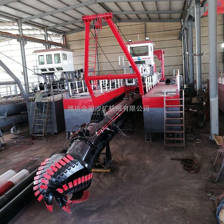 金盟 澜沧江清淤船厂商 大型绞吸式清淤船现货 12寸
